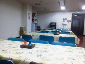 福岡県警中央警察署食堂 様子
