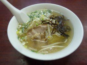 中華料理 桃園 ラーメン