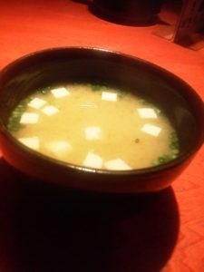 SASUKE 味噌汁