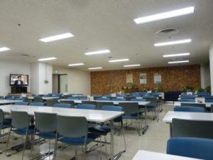 福岡県警察本部 食堂 フロア
