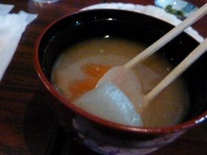 由蘭 味噌汁