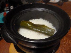 男厨 土鍋めし 高菜