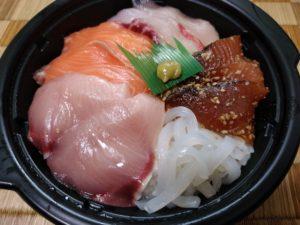 博多三徳 朝マルシェ 海鮮丼