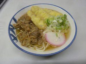長崎県営バスターミナル 肉ごぼううどん