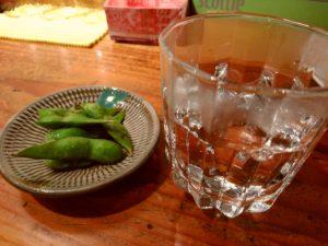 晩酌セット 枝豆
