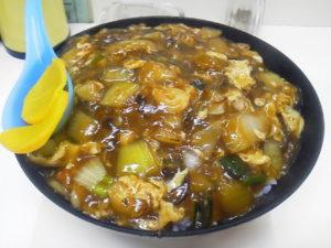 龍湖 中華丼
