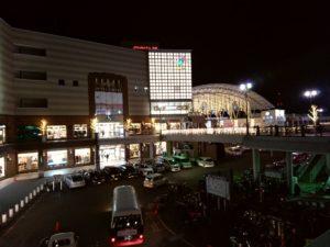 長崎駅夜景