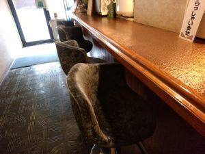門司 喫茶パール テーブル