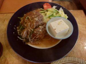 二日市 季節 ハンバーグステーキ