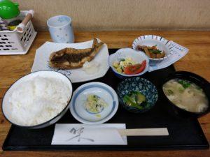 下関 唐戸 菜の花 魚定食