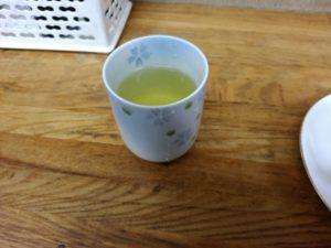 下関 唐戸 菜の花 お茶