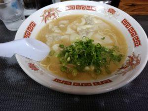 ラーメン将峰 ワンタン麺