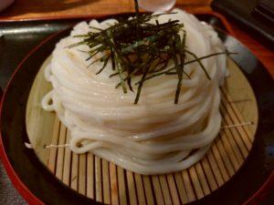 うどん田 ざるうどん 麺