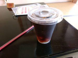 二日市温泉 博多湯 アイスコーヒー