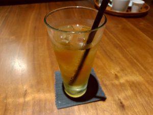 マクロビオティックカフェ エヴァダイニング アップルジュース