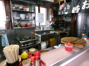 長尾亭 厨房