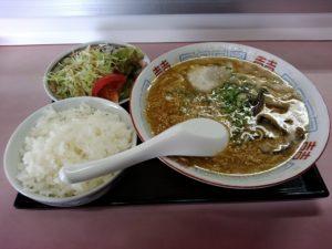 長尾亭 ラーメン定食