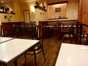 レストカフェ カフェテラス ロワール 店内