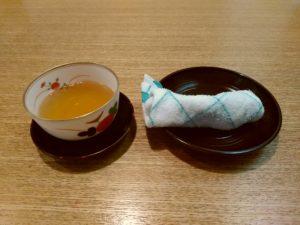 せき亭 ごぼう茶