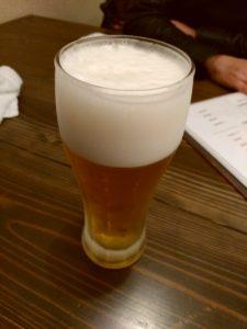 旬彩旬味燈明 ビール