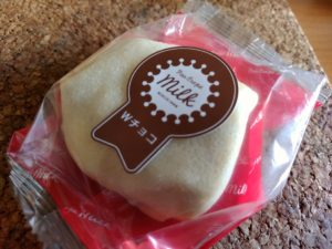 pao crape milk Wチョコ