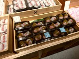 石村萬盛堂 博多土居通り 桜餅