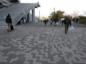 パナソニックスタジアム から 千里丘駅1