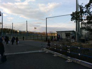 パナソニックスタジアム から 千里丘駅2