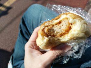 bread 赤坂 メンチカツバーガー 中