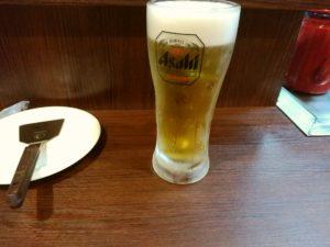 だんだんじゃけん 生ビール