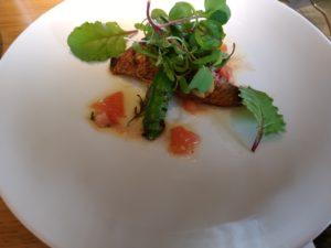 レッドフランマ 本日の鮮魚 トマトのケッカソース
