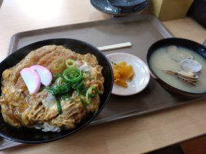 えびつラーメンセンター カツ丼