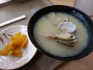 えびつラーメンセンター 貝汁