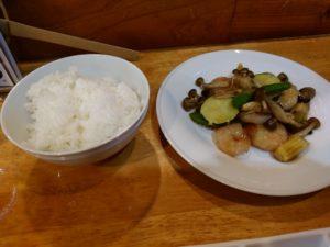 中国菜 隨園 エビのオイスターソース炒め