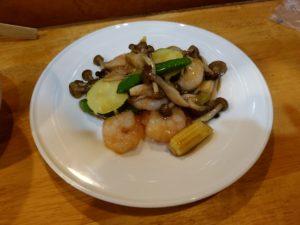 中国菜 隨園 エビのオイスターソース