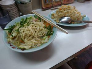焼き飯と野菜ラーメン みっちゃん