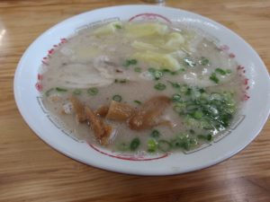 丸幸ラーメン ワンタン麺
