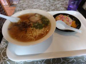 中華料理 福龍 ラーメン大盛り チャーハンセット