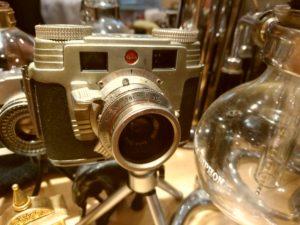珈琲専門店 Caféバンカム カメラ kodak