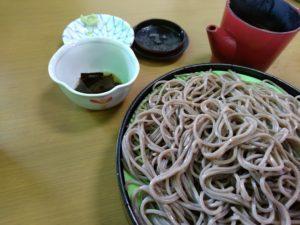 鹿島神宮 蕎麦 うちだや 蕎麦接写