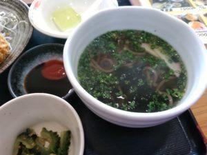 大川昇開橋温泉 コロッケ定食 蕎麦