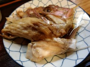 花千里 天然鯛のあら炊き