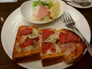 風街 ピザトースト