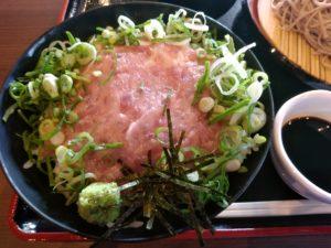 新宮温泉 ふくの湯 ネギトロ丼