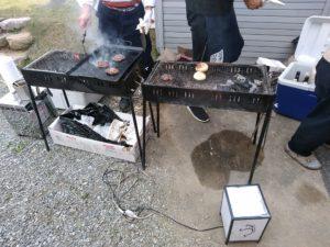 そらやマルシェ 炭火焼き