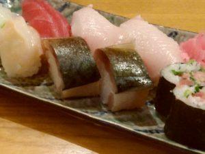 満天じょう家 寿司盛り合わせ
