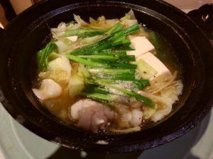 もつ鍋と日本酒 味処 一寸 モツ鍋