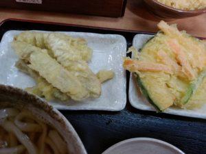 大木戸うどん  天ぷら