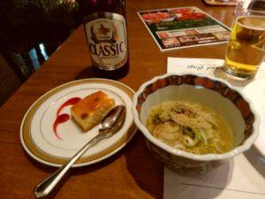 西鉄グランドホテル『北海道&かにフェア』 塩ラーメン