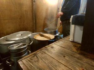 長浜とん吉 麺茹で